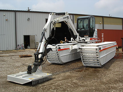 Amphibious-Excavator-with-Mower - Copy